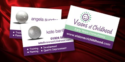 business cards & stationery design services